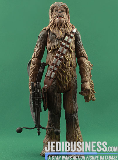 Chewbacca figure, blackthree
