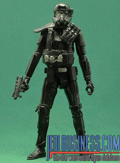 Death Trooper figure, blackthree