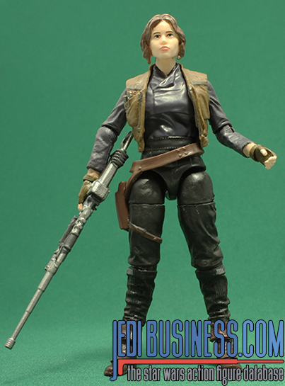 Jyn Erso figure, blackthree