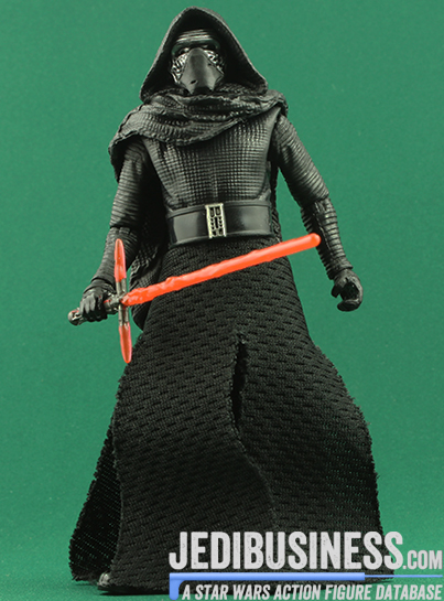 Kylo Ren figure, blackthree