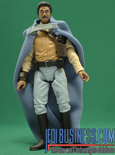 Lando Calrissian figure, blackthree