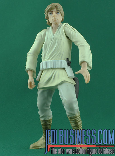 Luke Skywalker figure, BlackSeriesTitanium