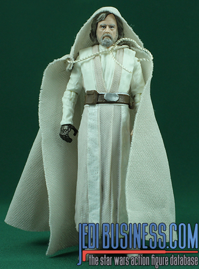 Luke Skywalker figure, blackthree