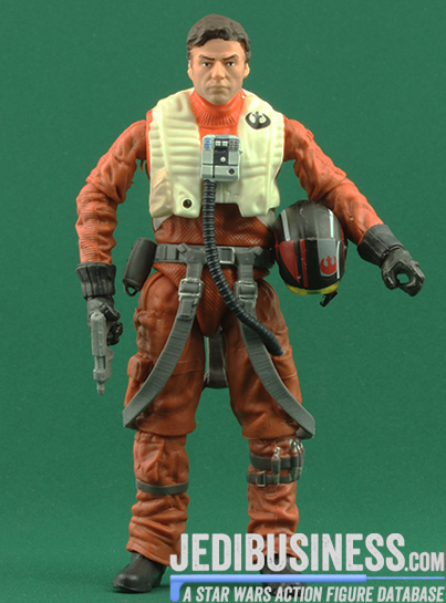 Poe Dameron figure, blackthree