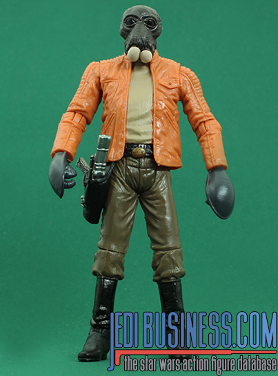 Ponda Baba figure, blackthree