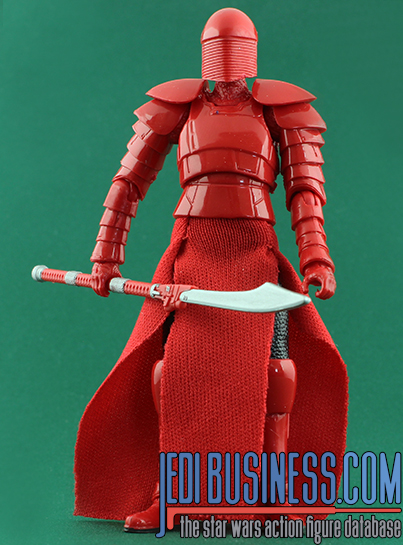 Elite Praetorian Guard figure, blackthree