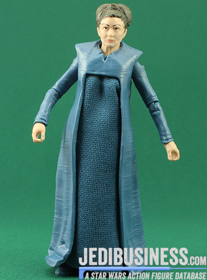 Princess Leia Organa figure, blackthree