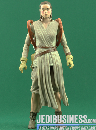 Rey figure, blackthree
