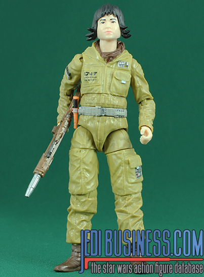 Rose Tico figure, blackthree