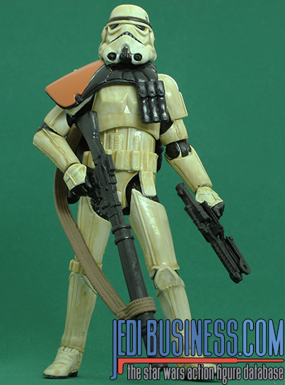 Sandtrooper figure, blackthree