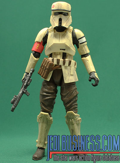 Shoretrooper figure, blackthree