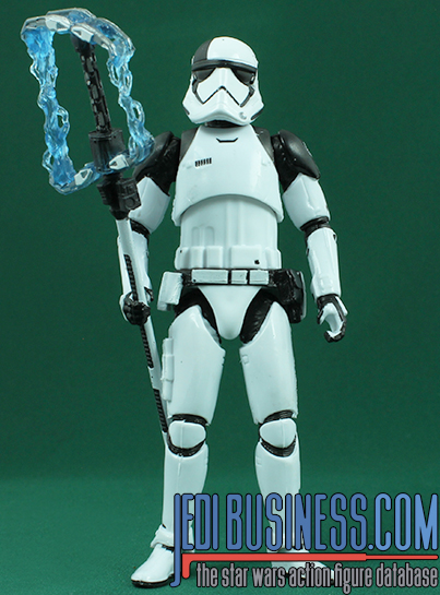 Stormtrooper Executioner figure, blackthree