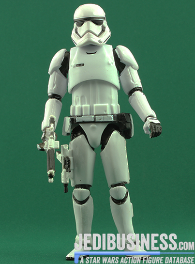 Stormtrooper figure, blackthree