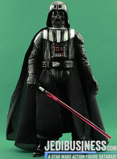 Darth Vader figure, blackthree