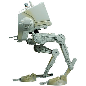 AT-ST Driver With AT-ST Vehicle