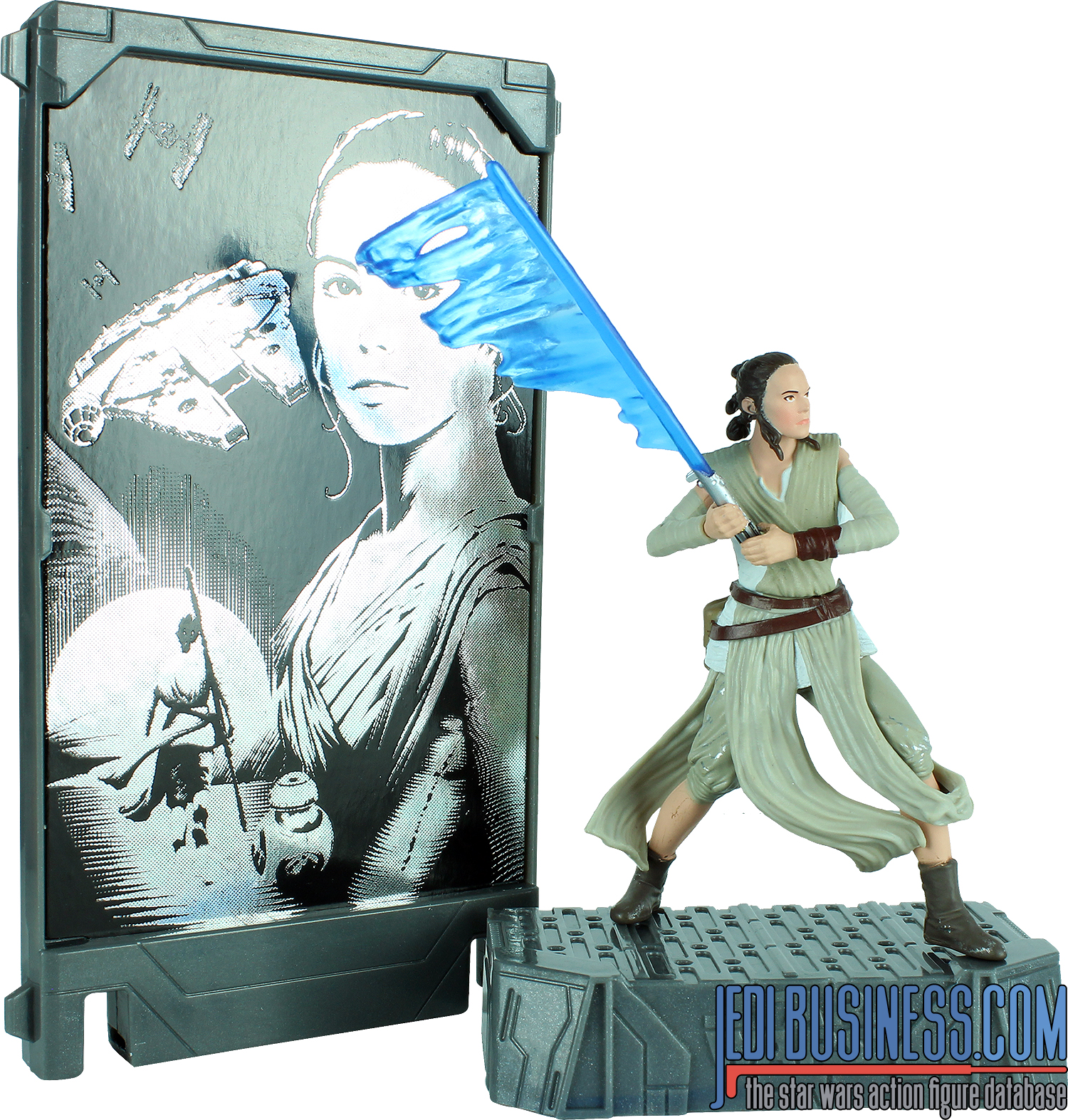 Rey The Force Awakens Titanium Series