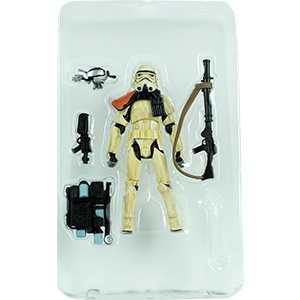 Sentry Droid Mark IV With Sandtrooper
