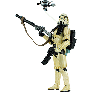 Sandtrooper With Sentry Droid Mark IV