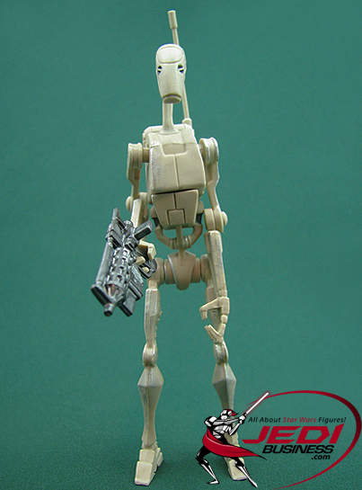 Battle Droid figure, CW4