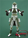 Clone Commander, Anti-Hailfire Droid Squad figure