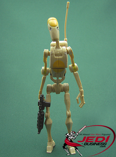Battle Droid Commander figure, CW2