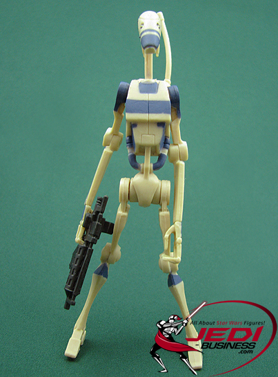 Battle Droid figure, TCWDeluxe