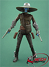 Cad Bane, With Pirate Speeder Bike figure