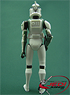 Clone Trooper Buzz, With Speeder Bike figure