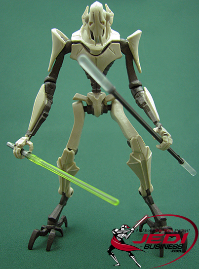 General Grievous figure, TCWDeluxe