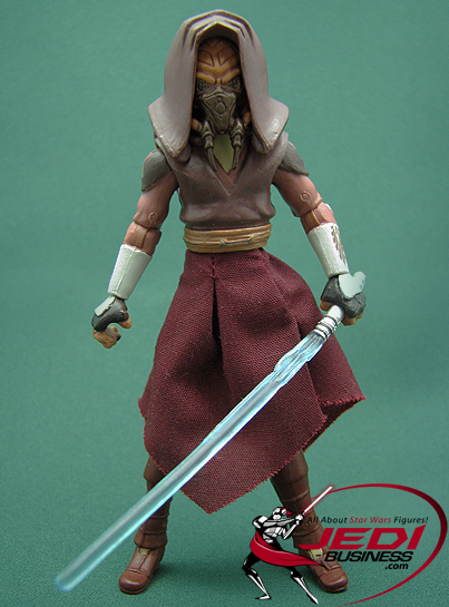 Plo Koon With Speeder Bike