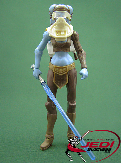 Aayla Secura Includes Flight Gear!