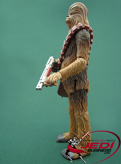 Chewbacca Bowcaster Fires Projectile! The Clone Wars Collection