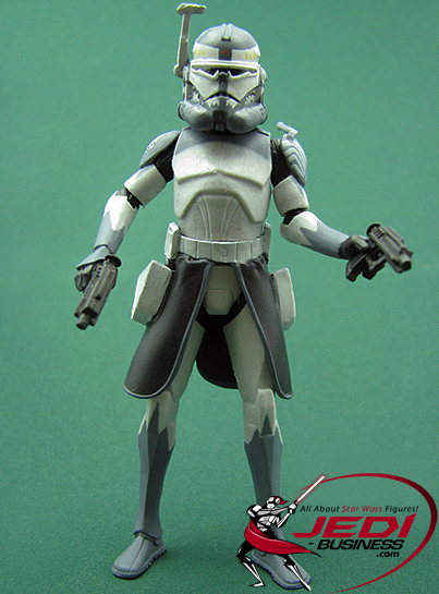 Commander Wolffe figure, CW3