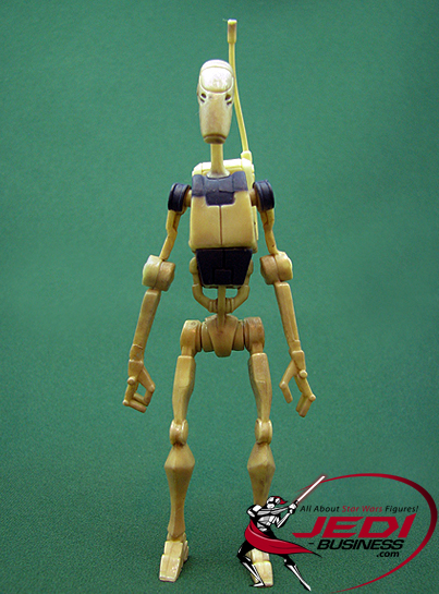 Battle Droid With Armored Scout Tank