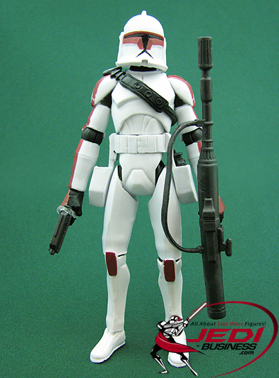 Clone Trooper Jek figure, TCW2-pack