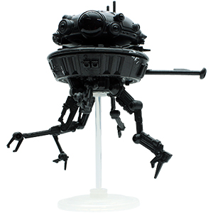 Probe Droid With Darth Vader