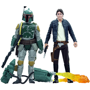 Boba Fett 2-Pack #2 With Han Solo (Bespin)