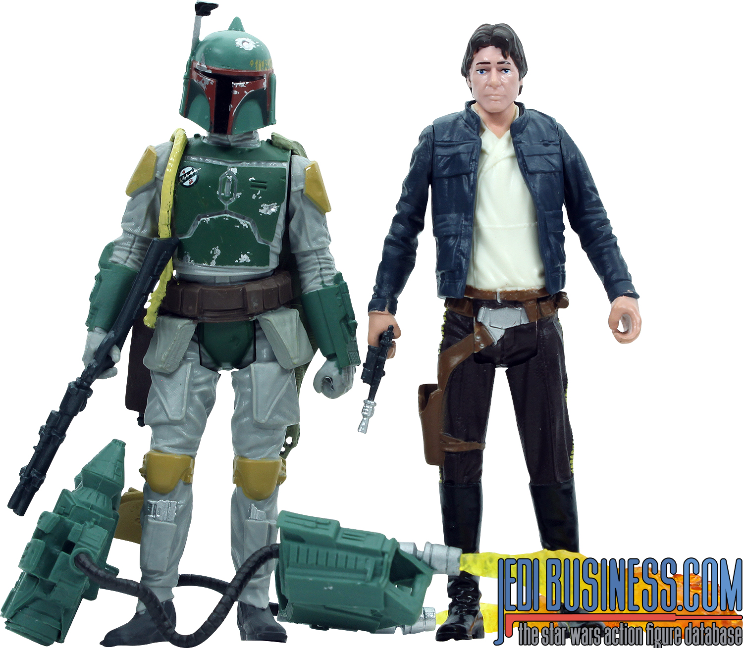 Boba Fett, 2-Pack #2 With Han Solo (Bespin)