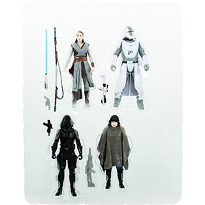 Rey Battle On Crait 4-Pack