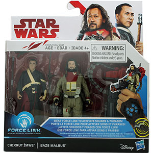 Chirrut Îmwe 2-Pack #3 With Baze Malbus