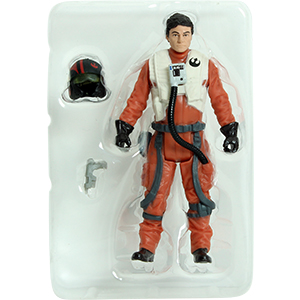 Poe Dameron With X-Wing Fighter