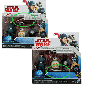 Rose Tico 2-Pack #4 With BB-8/BB-9e