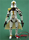 Clone Trooper, With Gelagrub figure