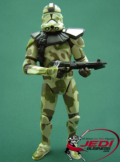 Kashyyyk Trooper Commander figure, TLCComic2-pack
