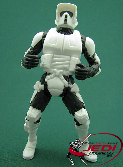 Biker Scout figure, POTF2vehicle