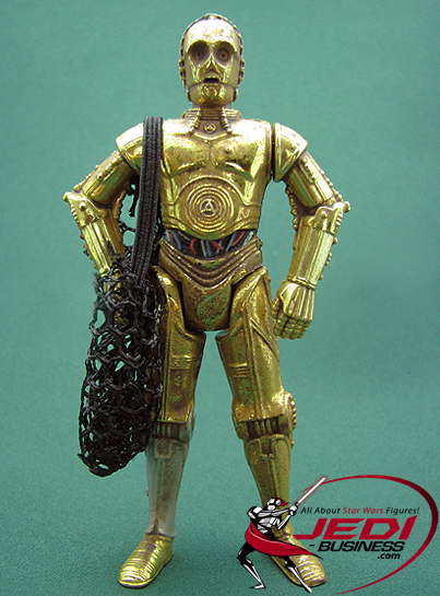 C-3PO With Cargo Net The Power Of The Force