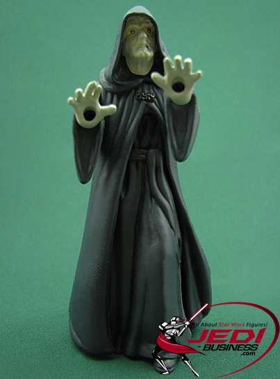 Palpatine (Darth Sidous) figure, POTF2coin
