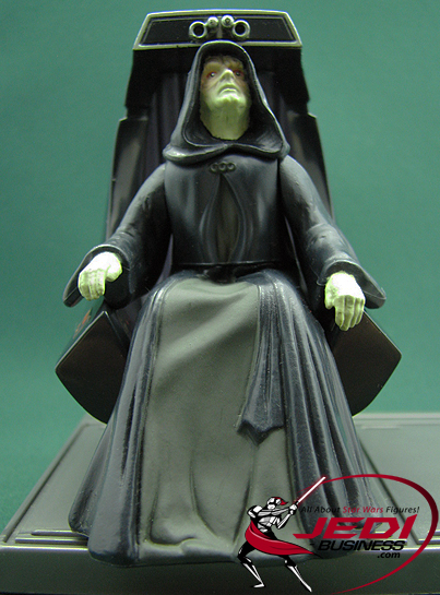 Palpatine (Darth Sidious) figure, POTF2cinema
