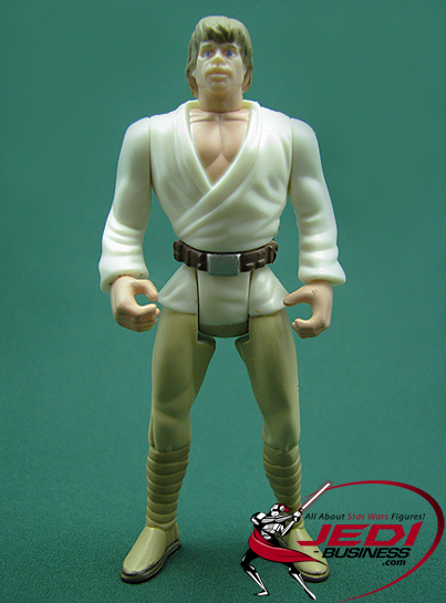 Luke Skywalker figure, POTF2deluxe