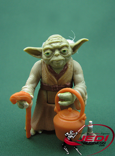 Yoda With Cane And Boiling Pot